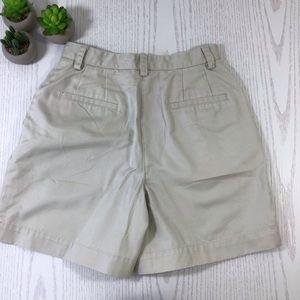 Liz Claiborne Shorts - Liz Claiborne | Petite Khaki Casual Shorts